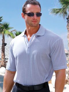 Light Gray Polo