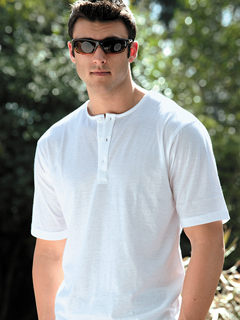 Light Gray Henley
